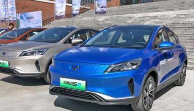 امگرند GSe، خودروی تمام الکتریکی جیلی رونمایی شد