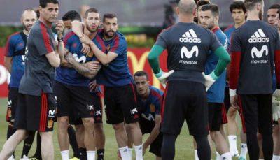 بازیکنان اسپانیا هیچ اعتراضی به تغییرات ندارند
