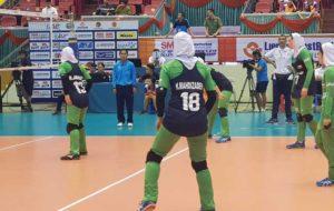 والیبال قهرمانی جوانان دختر آسیا ، ماکائو مغلوب تیم ایران شد