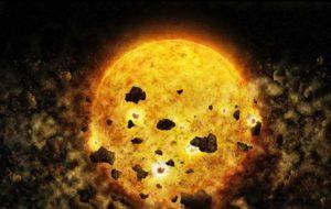 بلعیده شدن یک سیاره رصد شد