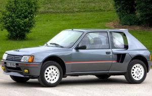 نگاه کوتاه به خودروی کلاسیک و کمیاب پژو 205T16