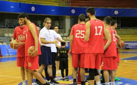 بسکتبال جوانان آسیا،پیروزی ایران برابر قزاقستان