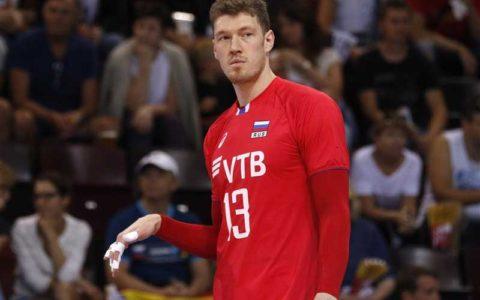 ستاره والیبال روسیه در لیگ ژاپن بازی میکند