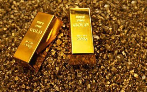 بهای طلا امروز دوشنبه در بازارهای جهانی