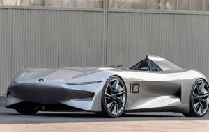 خودروی مفهومی اینفینیتی پروتوتایپ 10 رونمایی شد
