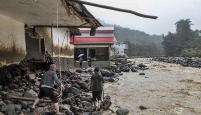 خسارت سیل در روستاهای تالش