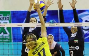 چین حریف بانوان ایران در مرحله دوم شد