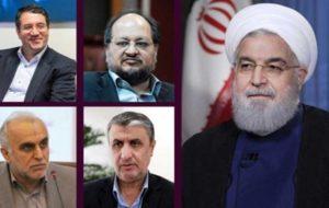 چهار وزیر پیشنهادی دولت،از مجلس شورای اسلامی،رای اعتماد گرفتند