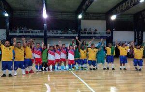 قهرمانی پاراگوئه در جام ملتهای کوتاه قامتان آمریکا با ستایس لیونل مسی