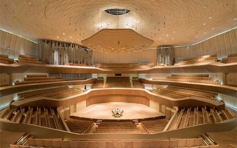 بزرگترین مرکز هنرهای نمایشی جهان در تایوان افتتاح شد