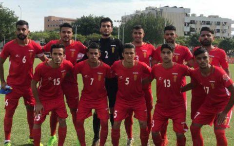 پیروزی تیم فوتبال دانشجویان ایران مقابل چین