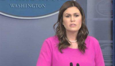 سخنگوی کاخ سفید پیروزی جمهوریخواهان بر سنا را تبریک گفت