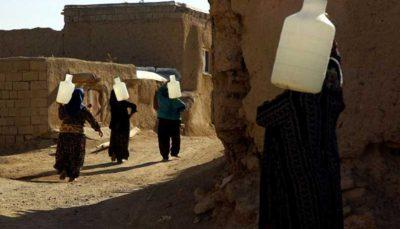 آبرسانی سیار به روستاهای دیواندره
