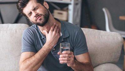 درد داشتن هنگام بلعیدن غذا نشانه این بیماری است
