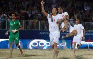 مشخص شدن همگروههای ایران در رقابتهای قهرمانی فوتبال ساحلی آسیا