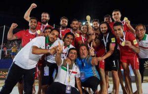 پایانِ خوش سال ۲۰۱۸ برای ساحلیبازان فوتبال ایران