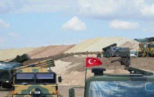 ترکیه در حال تقویت حضور نظامی خود در مرز سوریه است