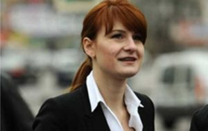 زن روس به جاسوسی در آمریکا اعتراف کرد