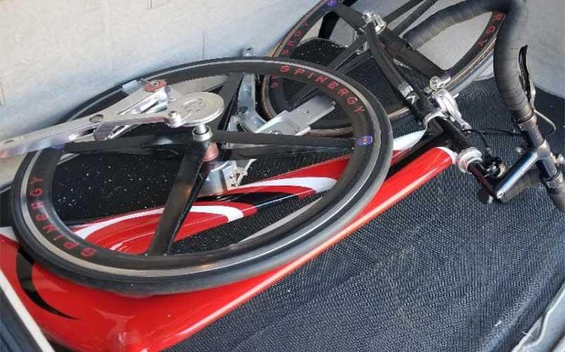 دوچرخه بدون زنجیر