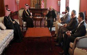 اشرفغنی با نماینده ویژه قطر در کابل دیدار کرد