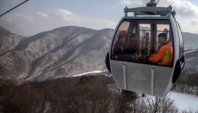 (تصاویر) پیست اسکی لاکچری کره شمالی