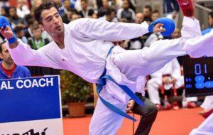 علی فداکار: با وجود عدم تمرین کاراته در یکسال گذشته، از عملکردم در امارات راضیام