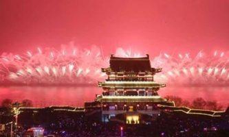 نورافشانی در چین