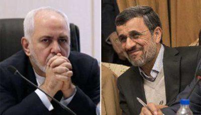 احمدی نژاد و ظریف