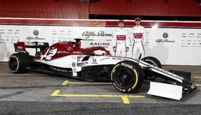 آلفارومئو خودرو فرمول یک فصل ۲۰۱۹ را رونمایی کرد