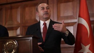 وزیر خارجه ترکیه