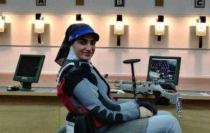 جام جهانی تیراندازی معلولان،صعود رقیه شجاعی به فینال تفنگ بادی ۱۰ متر