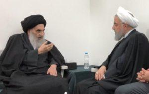 2 پیام صریح ملاقات مهم در نجف برای مخالفان روحانی در تهران و ترامپ در واشنگتن