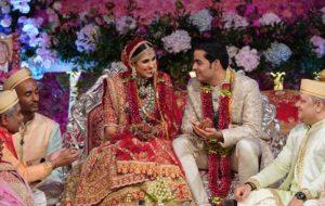 (تصاویر) جشن عروسی فرزند ثروتمندترین مرد آسیا