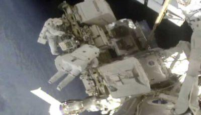 باتری های ایستگاه فضایی