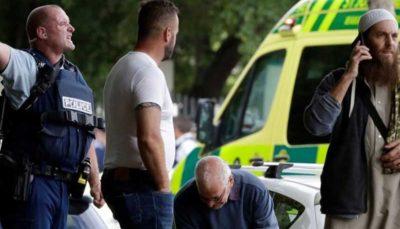 فیلمی از لحظه هولناک قتل عام نمازگزاران نیوزلندی