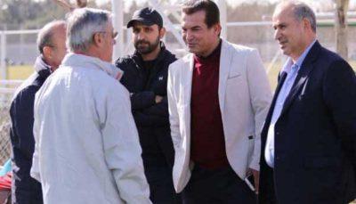 حضور زلاتکو کرانچار در جلسه کمیته فنی فدراسیون فوتبال