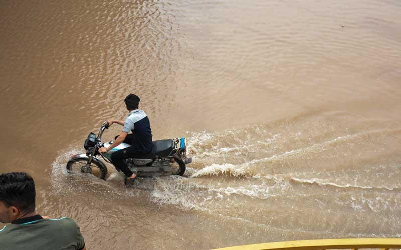 تصاویر:  طغیان رودخانه کارون