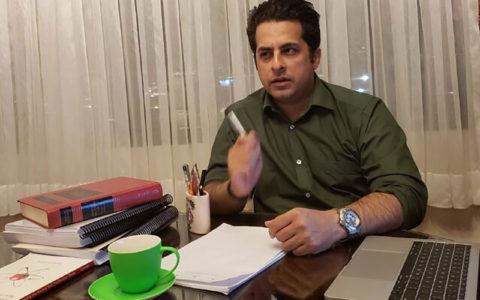 رضا نصری، حقوقدان