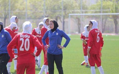 فوتبال دختران ایران