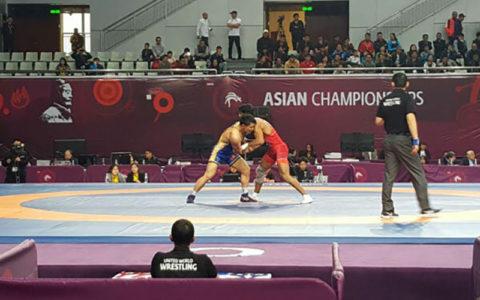 رقابتهای کشتی قهرمانی آسیا- چین