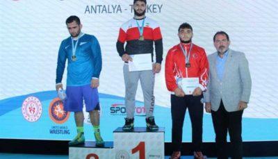 کشتی آزاد جوانان جام قهرمانان ترکیه، عنوان سومی تیم ایران با کسب ۳ مدال طلا و ۴ برنز