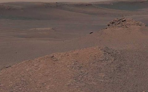 خاک رس از سطح مریخ