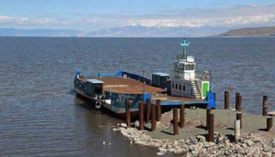 ارتفاع دریاچه ارومیه
