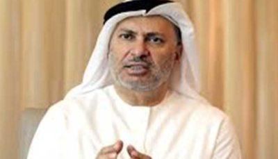 45 29 محمد جواد ظریف, انور قرقاش, امارات, فاکس نیوز