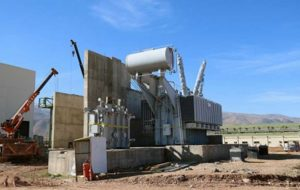پیشرفت بیش از ۷۰ درصدی واحد یک و دو گازی نیروگاه خرم آباد