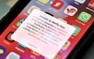 بحران اپلیکیشن
