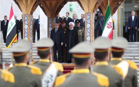 استقبال رسمی روحانی