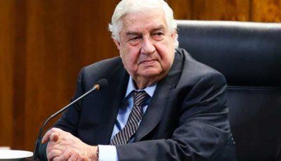 وزیر خارجه سوریه