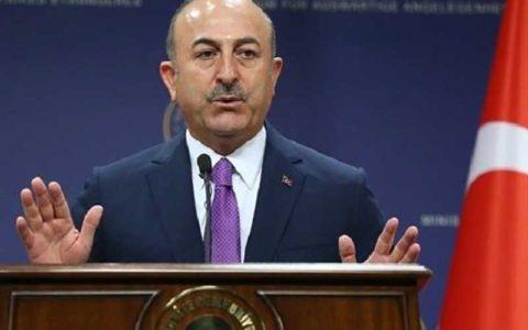 حمله شدید وزیر خارجه ترکیه به فرانسه