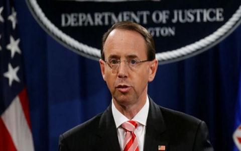 وزیر دادگستری آمریکا